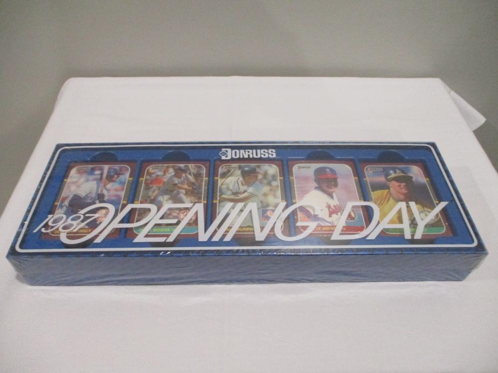 1987 DONRUSS OPENING DAY SET UNOPENED