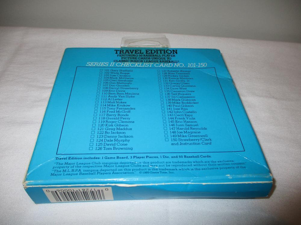 1989 Classic Travel Orange Set Sealed Ken Griffey Jr. Rookie unopened