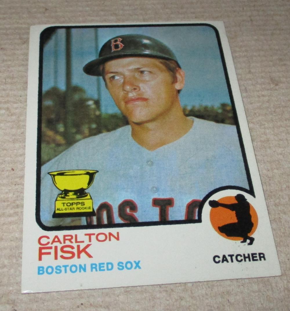 1973 TOPPS CARLTON FISK 2ND YEAR CARD