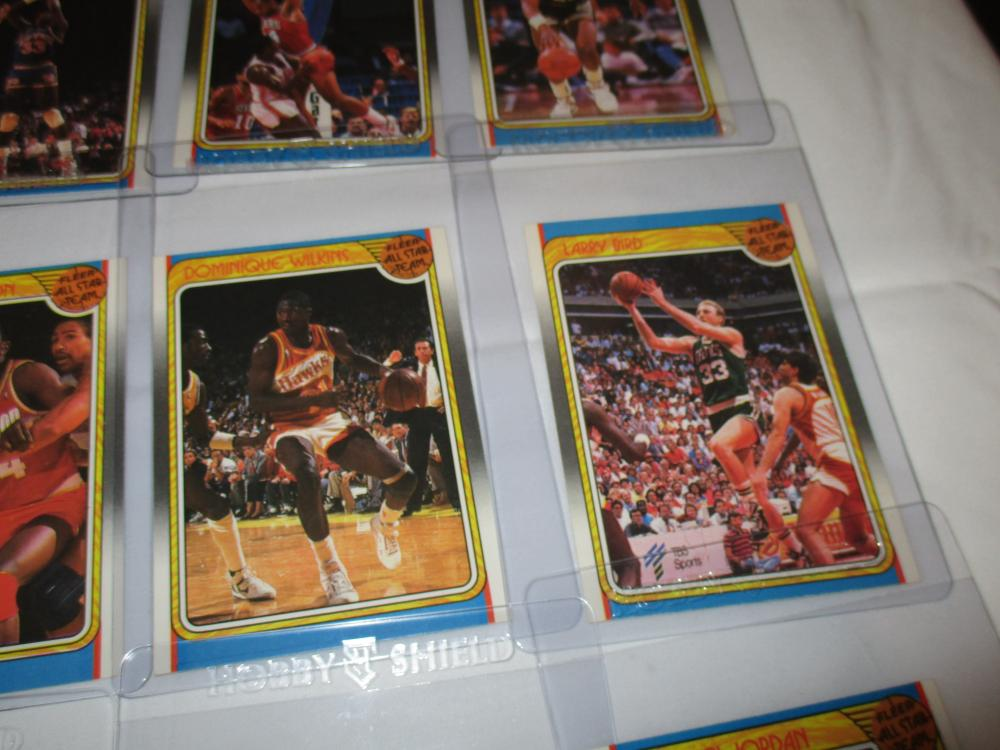 1988 FLEER BASKETBALL ALL STAR SET WITH JORDAN