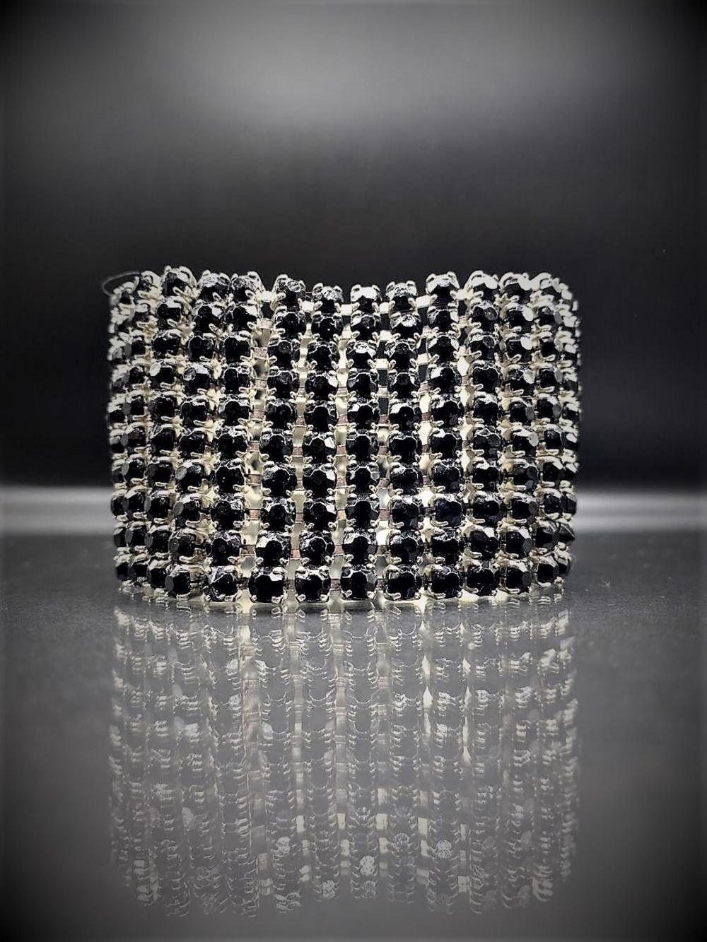 Vintage Sterling Silver Art Deco Bracelet