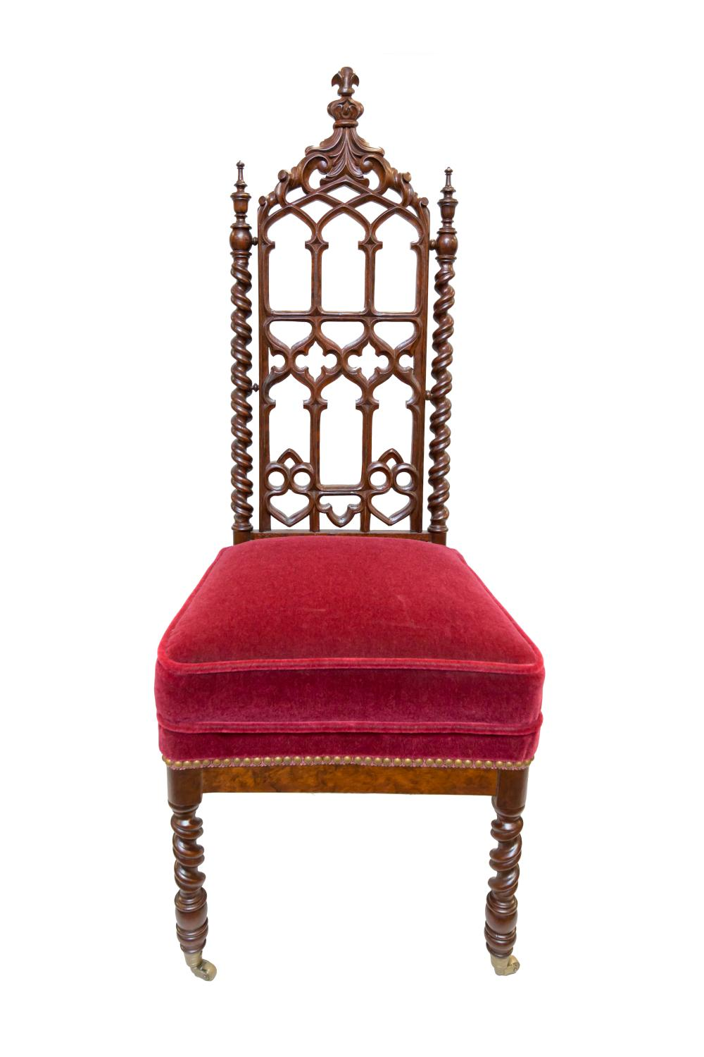 H20023-L164838242.jpg  sc 1 st  Invaluable & Over 100 Year Old Pair of Antique Gothic Chairs