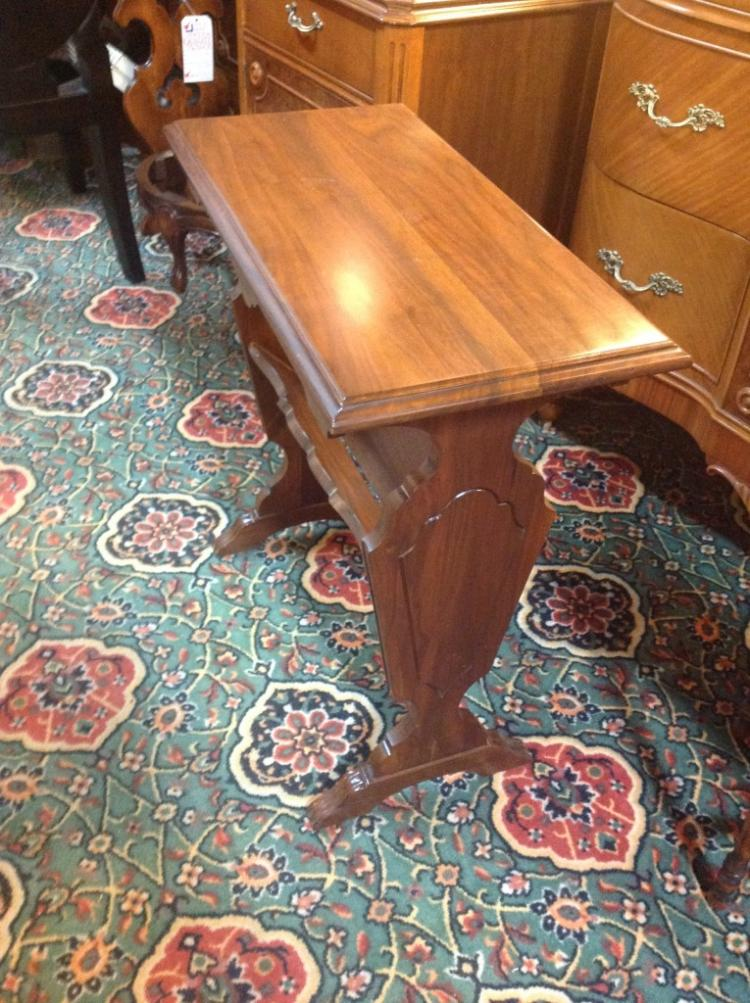 Antique Book Table