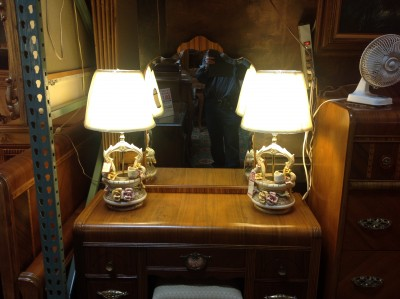Genuine Capodimonte Lamps and Shades