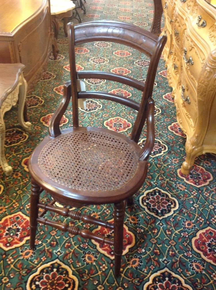 Antique Hand Caned Chair