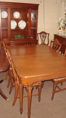 8 Piece Antique Dining Room Set