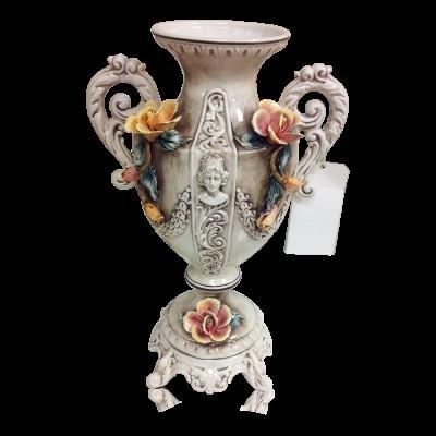 Genuine Capodimonte Vase/Centerpiece