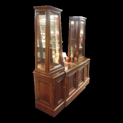 Antique Display Cabinet/China Cabinet/Hutch
