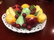 Capodimonte Fruit Bowl/Platter