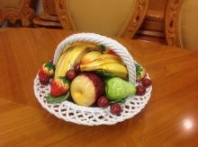 Capodimonte Fruit Bowl/Basket
