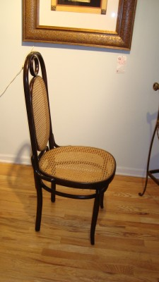 ... Bentwood Cane Chairs. 1