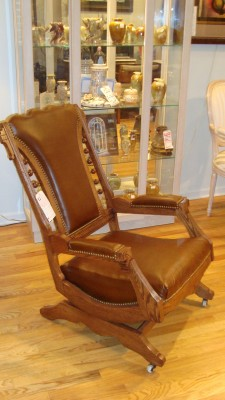 Antique Art Deco/Victorian Rocker