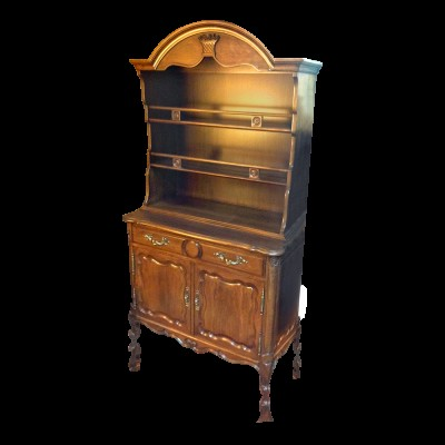 Antique Chest/Buffet with Open Hutch Top