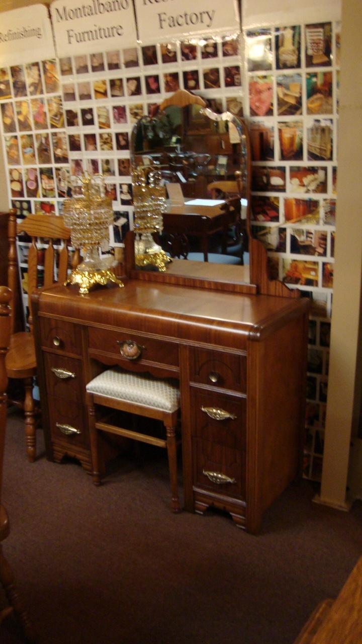 antique art deco bedroom set