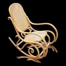 Antique Bentwood Rocker