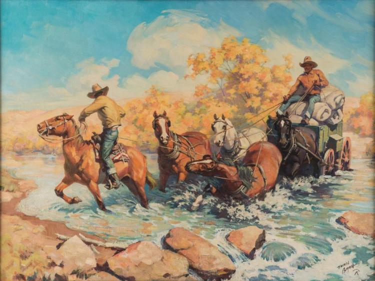 Harold Bryant, oil on canvas