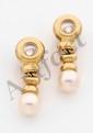 CHOPARD. Paire de pendants d'oreilles Happy Diamonds
