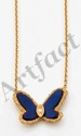 VAN CLEEF AND ARPELS. Collier papillon