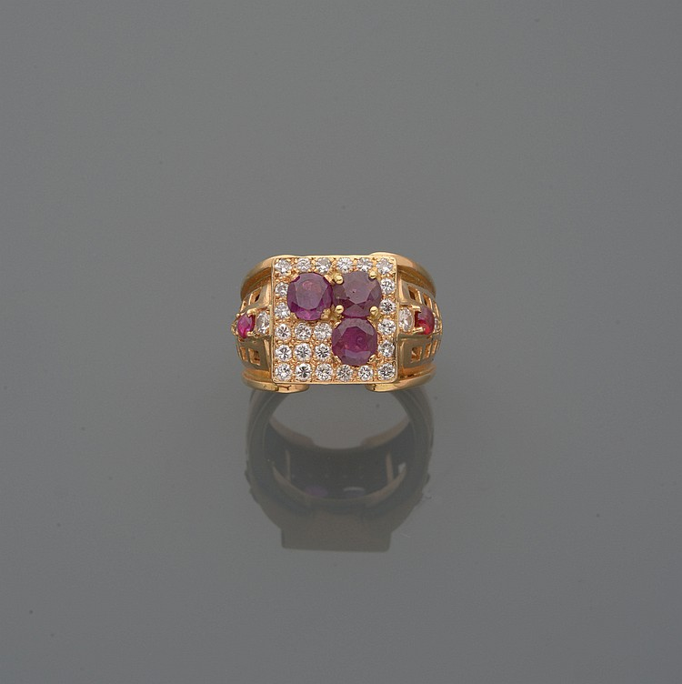 BAGUE CHEVALIERE