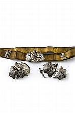 Ceinture caucasienne Tissée en fils d'or et