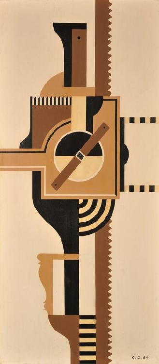 Otto Gustav CARLSUND (1897 - 1948) - L'Opérateur brun