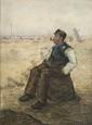 Jean François RAFFAELLI 1850 -1924 - Le chiffonnier