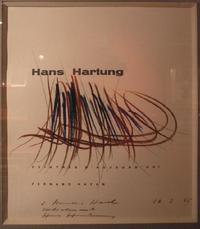 Hans HARTUNG 1904 -1989 - Hartung peintre d'aujourd'hui
