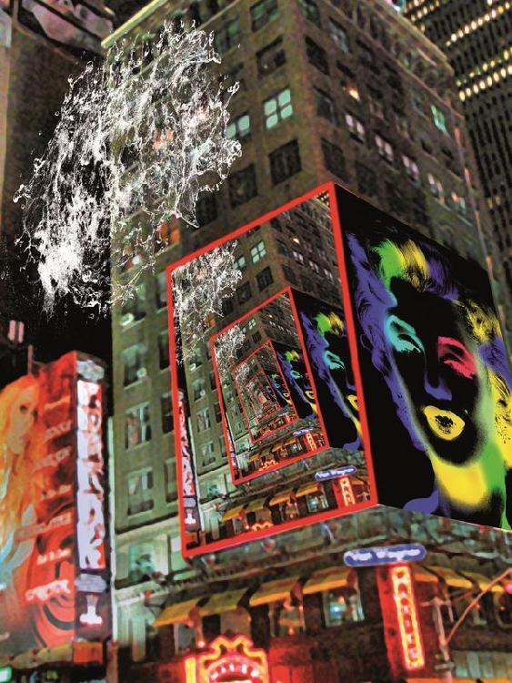 Dominique MULHEM né en 1952 - Times Square