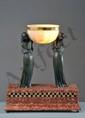 Pierre LE FAGUAYS 1892 - ? - Deux femmes drapées portant une vasque