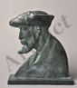 Richard GUINO 1890 -1973 - Profil d'Auguste Renoir