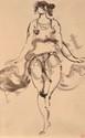 Richard GUINO 1890 -1973 - La danseuse