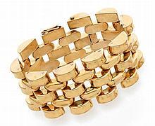 Bracelet large articulé