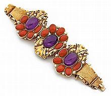 Large bracelet cocktail