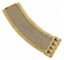 Bracelet manchette souple