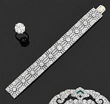 Beau bracelet Art Déco
