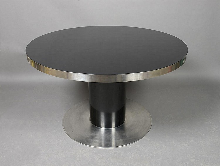 Willy rizzo 1928 2013 italie table de salle manger mod - Table a salle a manger ...
