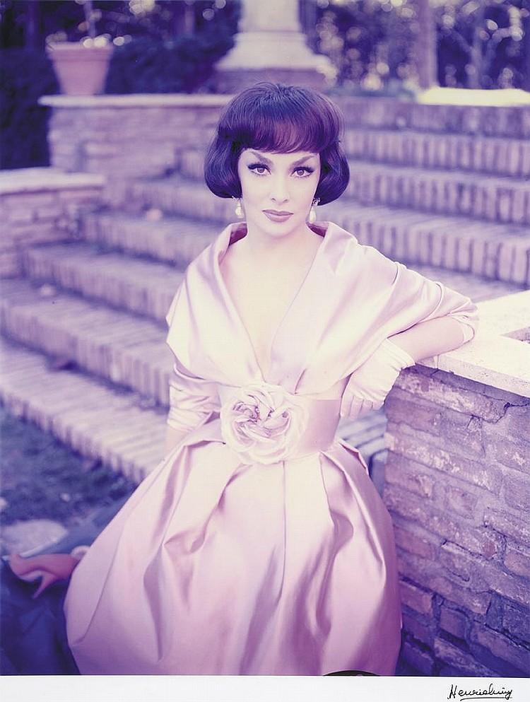 HENRI ELWING (NÉ EN 1925)  Gina Lollobrigida, Rome 1959