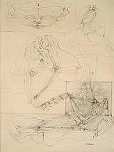 Hans BELLMER (1902-1975) Figures désarticulées
