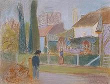 Emile Othon FRIESZ (1879-1949) Paysage urbain 2