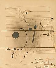 Antonio TAPIES (1923-2012) Composition