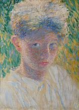 Fernand LANTOINE (1876-1955) Portrait d'enfant