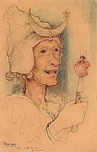 Nicolas EEKMAN (1889-1973) L'Abeille sur le couteau