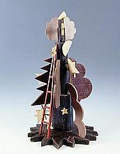 Fortunato DEPERO (1892-1960) La Notte Sculpture Fururiste