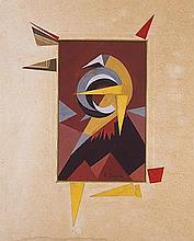 Fortunato DEPERO (1892-1960) L'oiseau