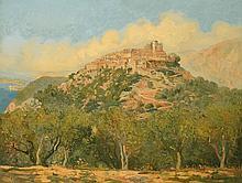 BORGOMANO (vers 1930) Le village d'Eze
