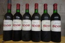 6 bouteilles  MADIRAN   A. Brumont  1989  (3 TLB, 1 LB)