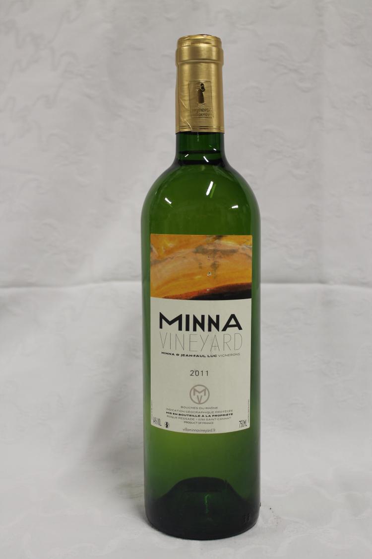 12 bouteilles bouches du rhone blanc minna 2011 for Bouches du rhones