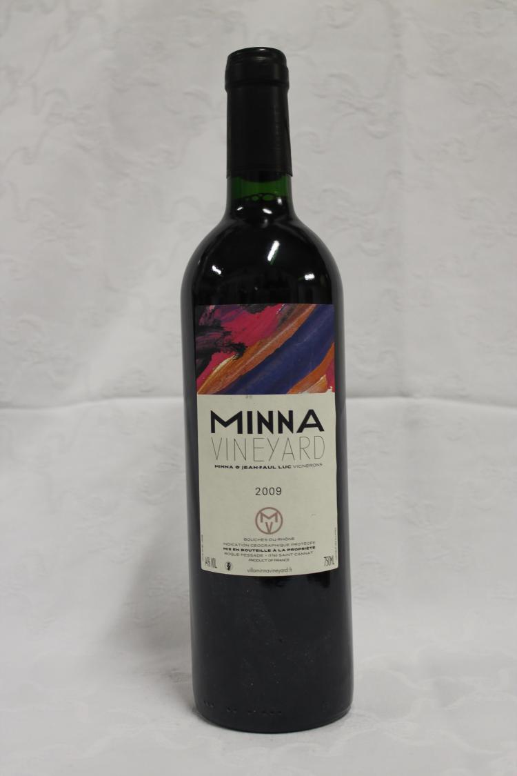 6 bouteilles bouches du rhone rouge minna 2009 for Bouches du rhones