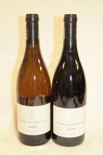 12 bouteilles SAUMUR CHATEAU  de Fosse-Seche (6 rouge Eolithe 2012, 6 blanc Arcane 2014)