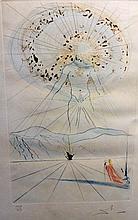 Ensemble de trois lithographies par Salvador DALI    A diviser